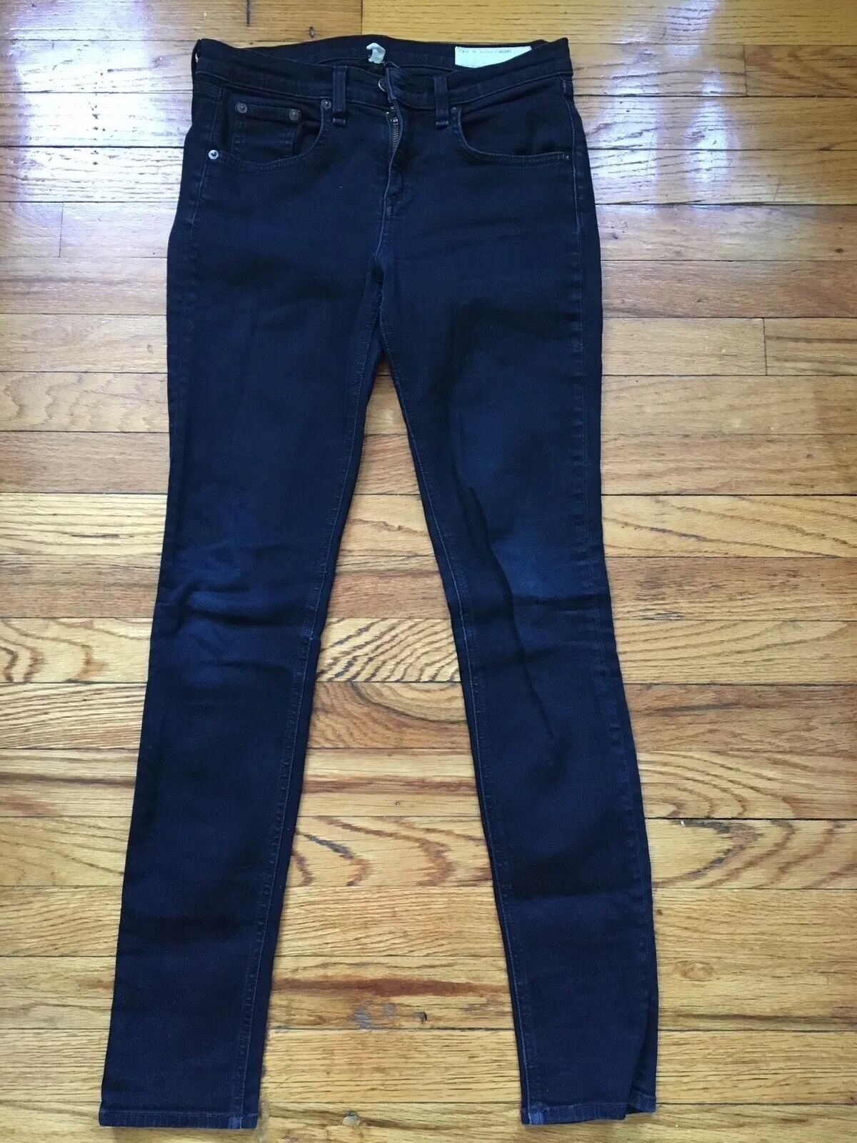 Rag & Bone High Rise Skinny Coal Wash Size 26