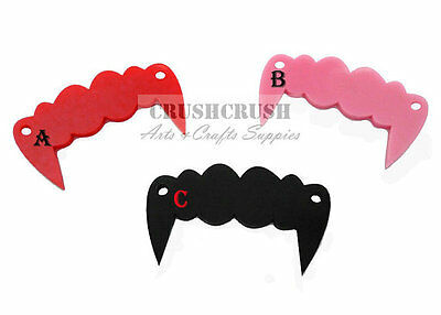 Free Shipping - 4pcs Vampire Teeth Fang Pendants CHARMS Halloween PND-467