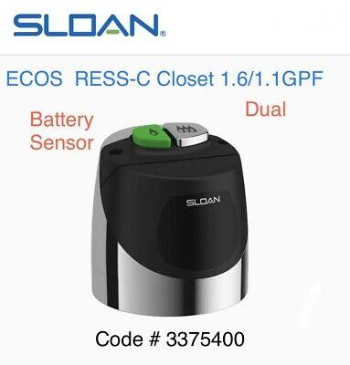 SLOAN Single Flush,Solar Solis RESS-C-1.28//3375302 FV Retrofit Kit