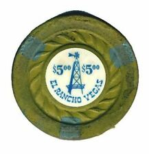 BOULDER CLUB  $5 /' ENJOY THE OLD WEST/'  1940s issue chip