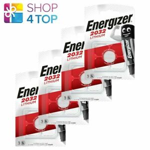 4 ENERGIZER CR2032 LITHIUM BATTERIES 3V COIN CELL DL2032 EXP 2029 NEW
