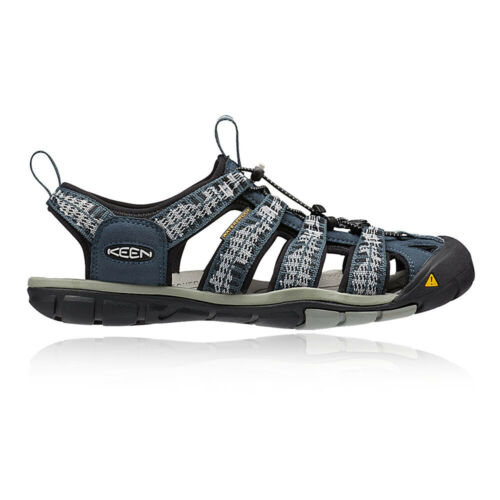 Keen Mens Clearwater CNX Walking Shoes Sandals Blue Sports Outdoors Waterproof