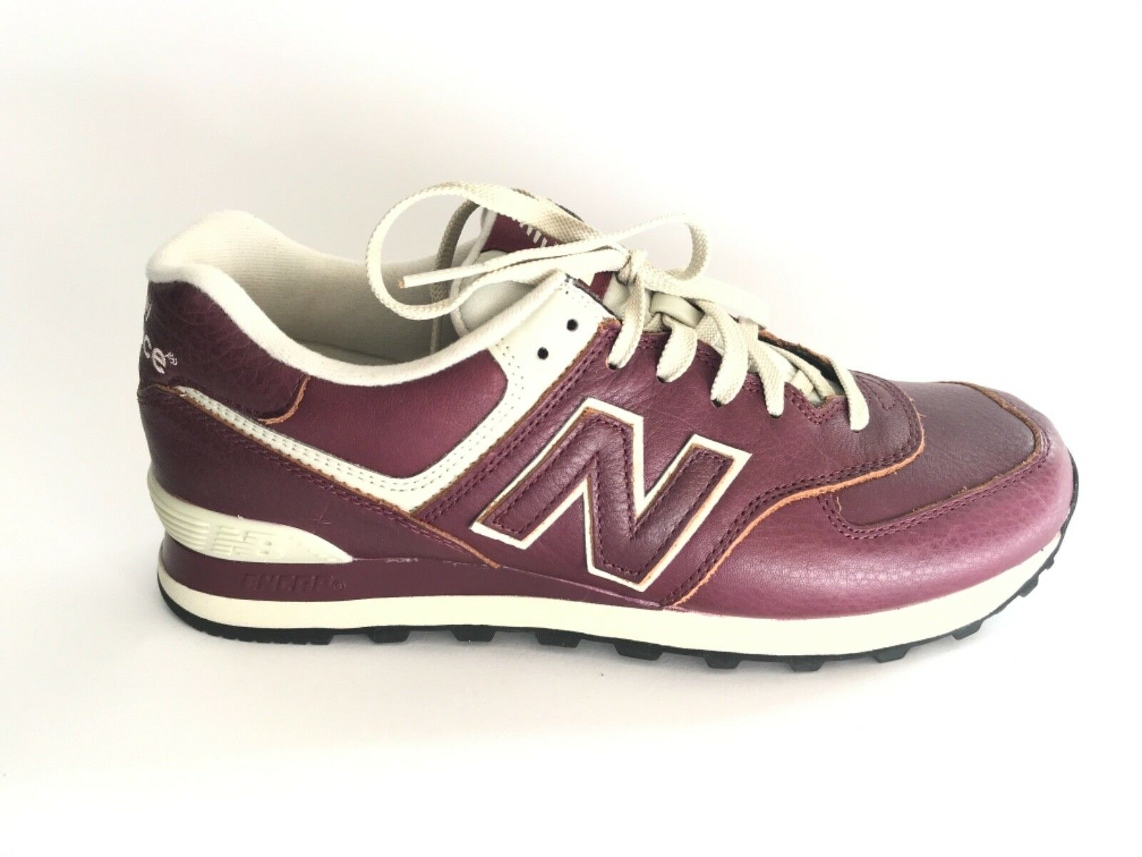 NEW BALANCE burgundy n. 41,5 man man SAUW81 leather