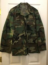 U.S. Military Issue Camouflage BDU Shirt  Size Small - Regular Pre-Owned