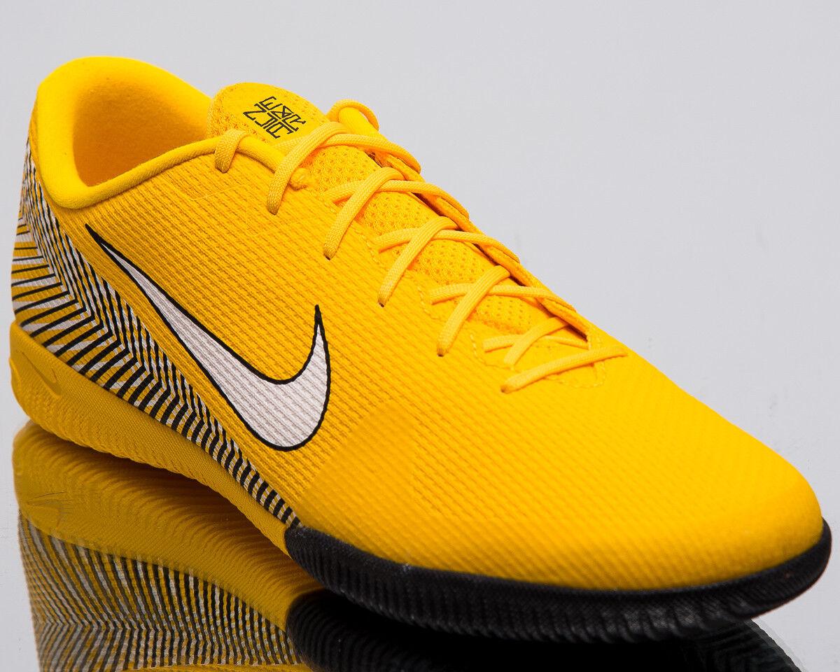 Nike Mercurial Vapor XII Academia Neymar Jr. IC hombres nuevos zapatos de fútbol AO3122-710