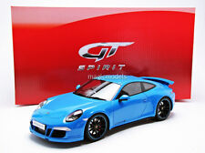 GT Spirit 2012 Porsche 911 / 991 Carrera 4S Aerokit Cup Blue LE 1000 1/18 New!