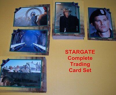 STARGATE   Complete Trading Card Set