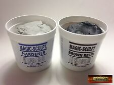 M02054 MOREZMORE 5 lb BROWN Magic Sculpt Sculp Epoxy Clay Model Putty T20A
