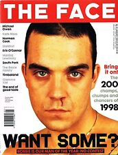 THE FACE 01/1999 ROBBIE WILLIAMS Aidan Moffat KATE MOSS Helena Christensen CHER