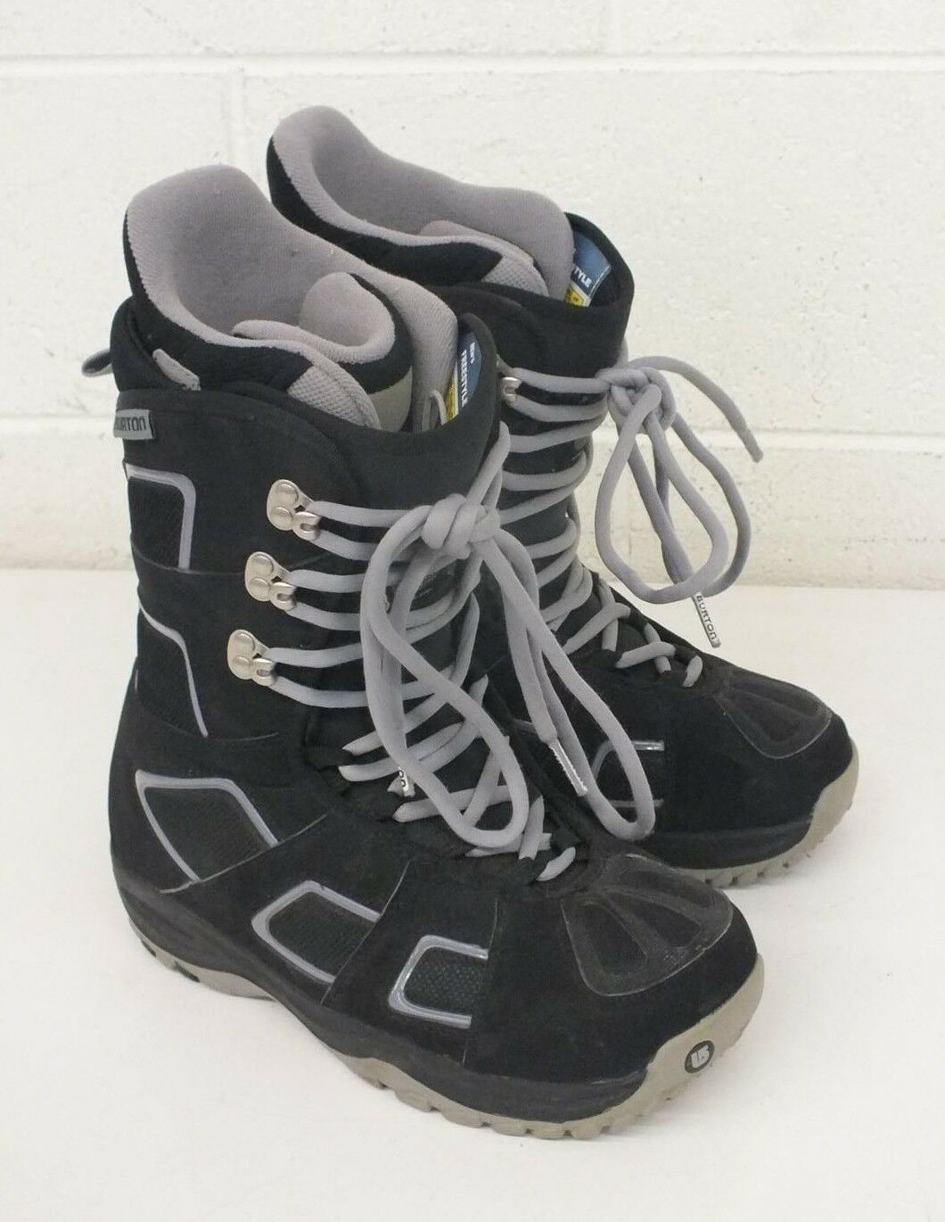 Burton Freestyle High-Quality All-Mountain Snowboarding Boots US Men's 7