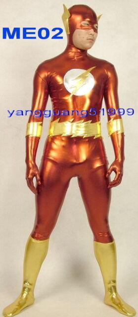 Fantasy Superhero Suit Outfit Unisex Lycra Spandex Birdman Catsuit Costumes F180