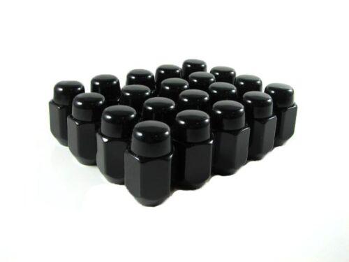 "Lug Nuts Acorn 7//16/"" 20 Pc New GM Black"
