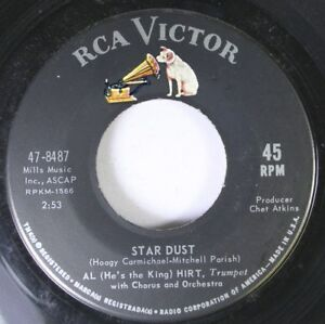 Jazz-45-Al-Hirt-Star-Dust-Fancy-Pants-On-Rca-Victor