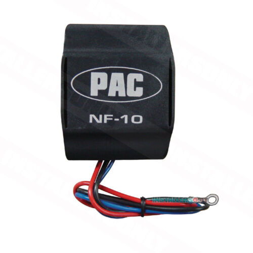 PAC NF-10 CAR RADIO 10-AMP 12 VOLT DELUXE POWER LEAD NOISE FILTER