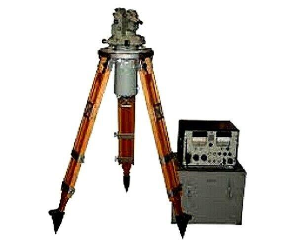 Giro Theodolite Land Gi-B2 MOM Budapest Surveying Equipment RARE Vintage