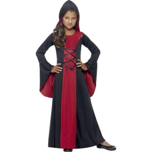 Halloween 3er Kostuem.Kostume Verkleidungen Kinder Kostum Vampirin Burgfraulein Halloween Smi Gspbl