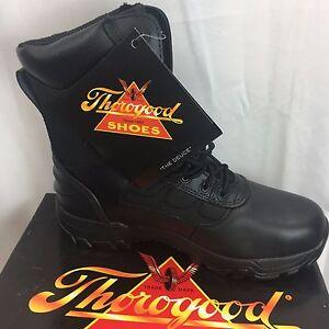 2a45204973e Details about NIB Thorogood Commando Deuce 8inch Lace Up Boots Men's Black  #834-6087