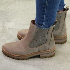 Details zu Timberland Courmayeur Valley Chelsea Boots Stiefeletten Damen Stiefel Schuhe