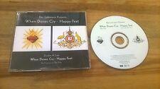 CD Pop Baz Luhrmann - When Doves Cry / Happy Feet (2 Song) Promo EMI CAPITOL sc