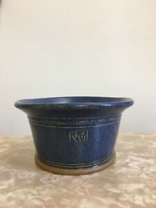 Nick-Membery-Ceramic-Dish-Potters-Mark-Blue-Kitchenware