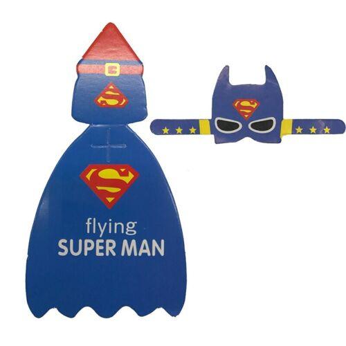 54Pcs Superman Batman Cartoon Candy Lollipop Decoration Cards For Kids Birthday