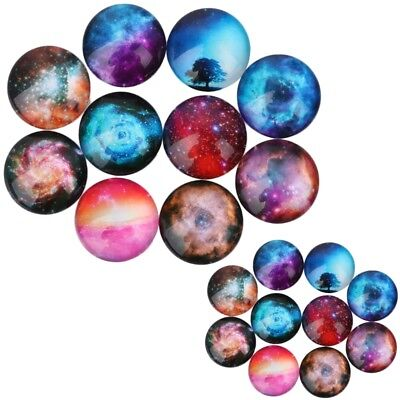 1 Bag Transparent K9 Glass Cabochons Flat Back Round Dome Colorful Cameos 4~14mm