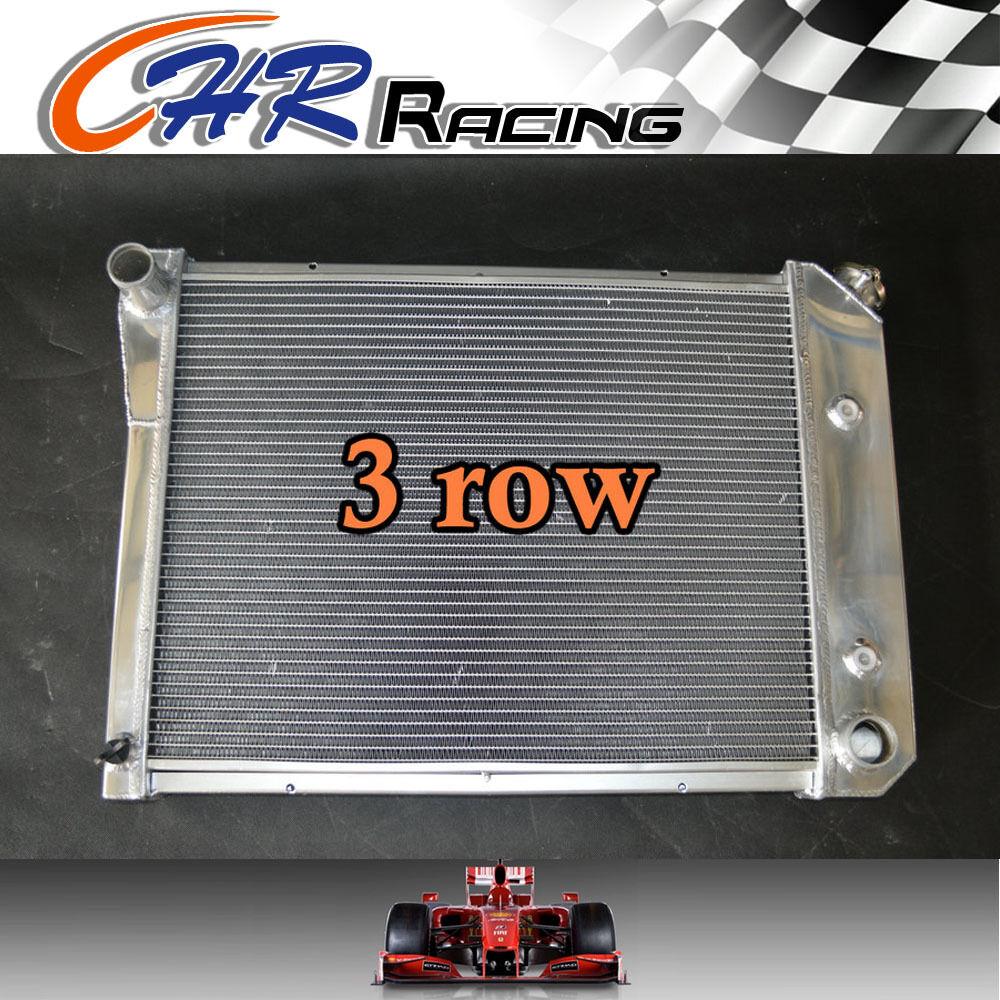 For Chevy Nova PRO 68-74//SMALL BLOCK 72-79//Buick Pontiac Aluminum Radiator 3 Row