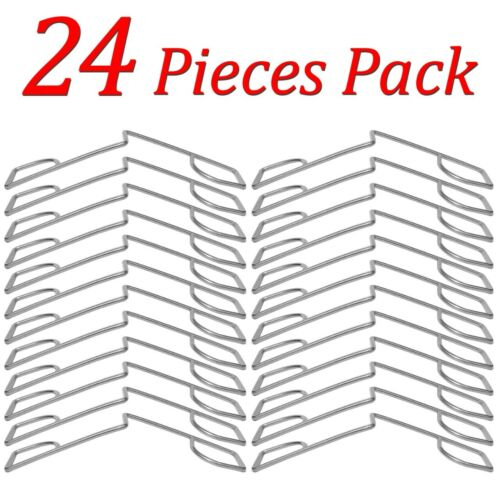 Fence Panel Grips Clips Stop Rattling 48 Pcs for 12 Fences Garden Wind Protector