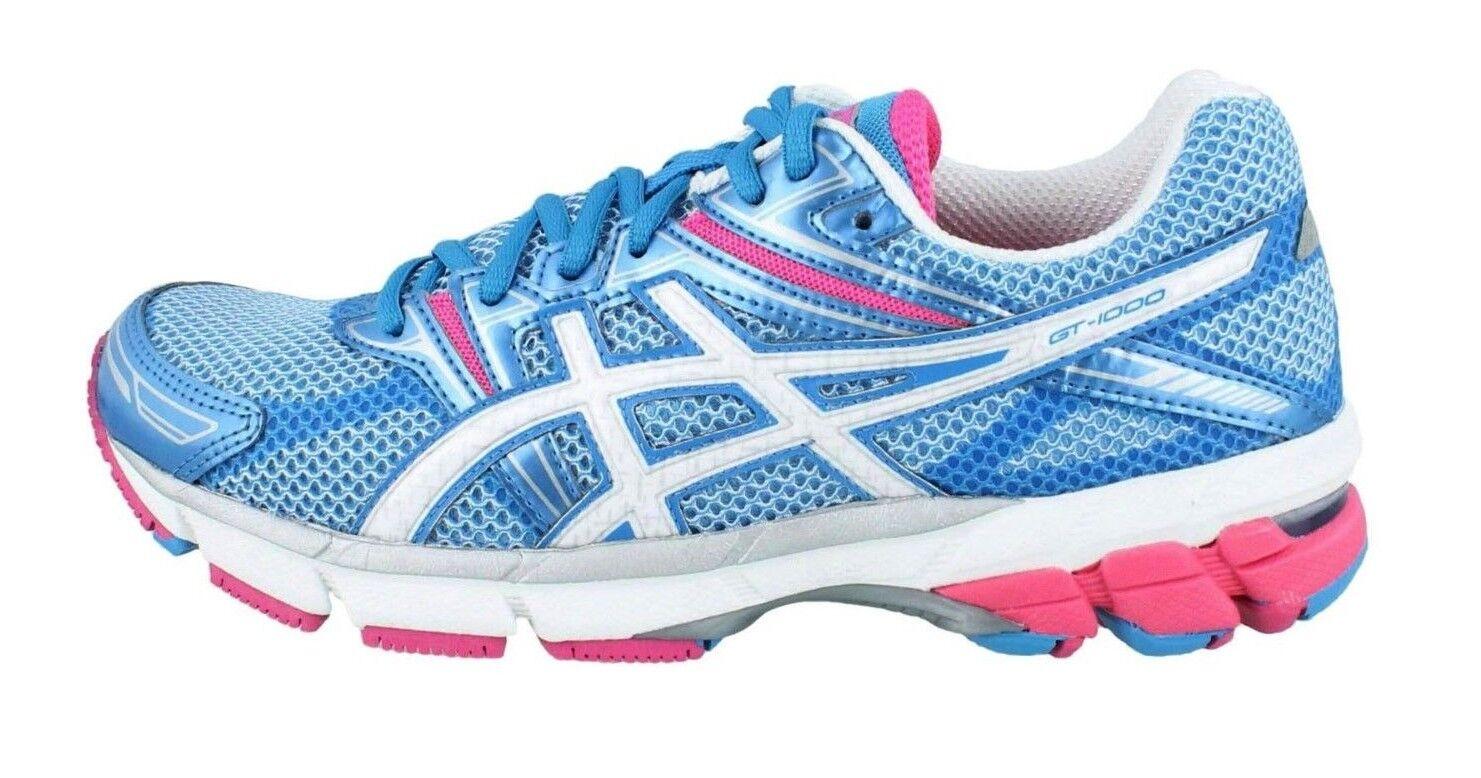 4585dc661 Asics Women s GT-1000 shoes NEW AUTHENTIC Island bluee T2L6N-6101 sz. 6.5  White nocvqi2464-Athletic Shoes