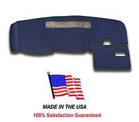 1995-1997 Chevy Blazer Mini S-10 Dark Blue Carpet Dash Cover Mat Pad Ch2-9