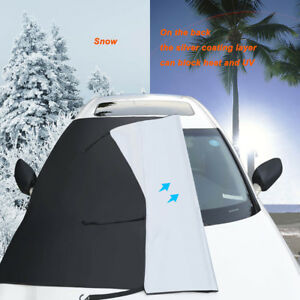 Windshield-Snow-with-Mirror-Covers-Anti-Frost-Wiper-Visor-Protector-for-Car-SUV