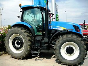 Details about New Holland T7030 - T7060 Tractors - Operators / Maintanance