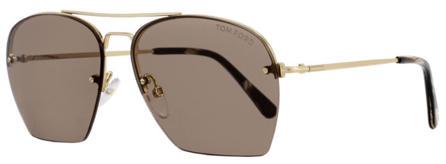 Grey Gradient Sunglasses NO CASE NEW Tom Ford FT0519 28B Ondria Polished Gold