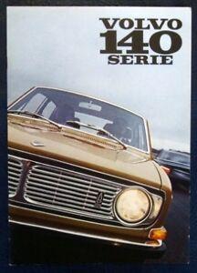 VOLVO-140-SERIES-CAR-SALES-BROCHURE-AUGUST-1969-DUTCH-TEXT