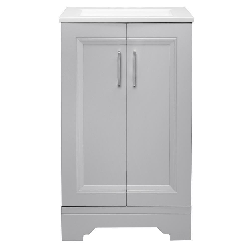 Glacier Bay Bath Vanity Cabinet Storage