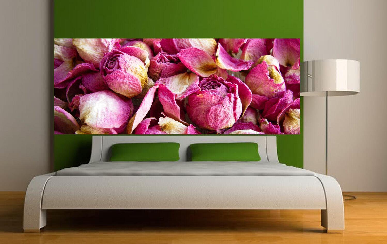 Adhesivo Cabeza Colcha Decoración Mural Pétalos de pink 3688 (5 sizes)