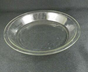 Vintage-Pyrex-Pie-Pan-209-9-034-Clean-Edges-Clear-Glass-C-AA