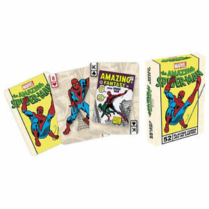New-Marvel-Comics-The-Amazing-Spider-Man-Playing-52-Cards-SEALED