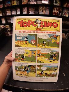 Topolino-la-Gallina-di-Compar-Caprone-1981-Mondadori-1-edizione-volume-buono