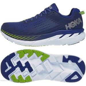New-Men-039-s-Hoka-One-One-Clifton-5-Running-Shoes-Size-10-5-11-Blue-Indigo-1093755