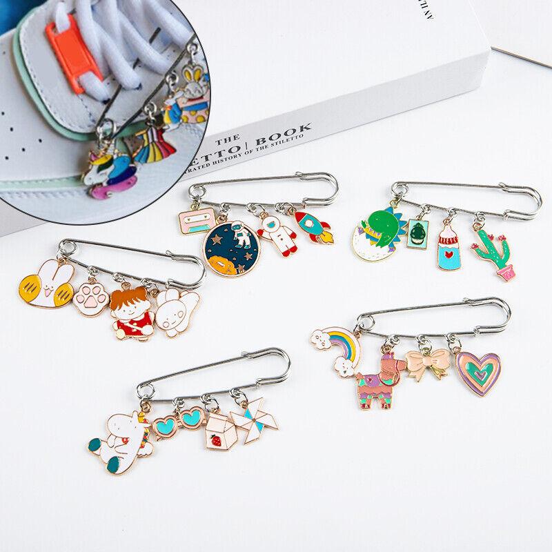 Cartoon Shoelace Charm Buckle Metal Shoelace Accessories DIY Sneaker Buckles P5