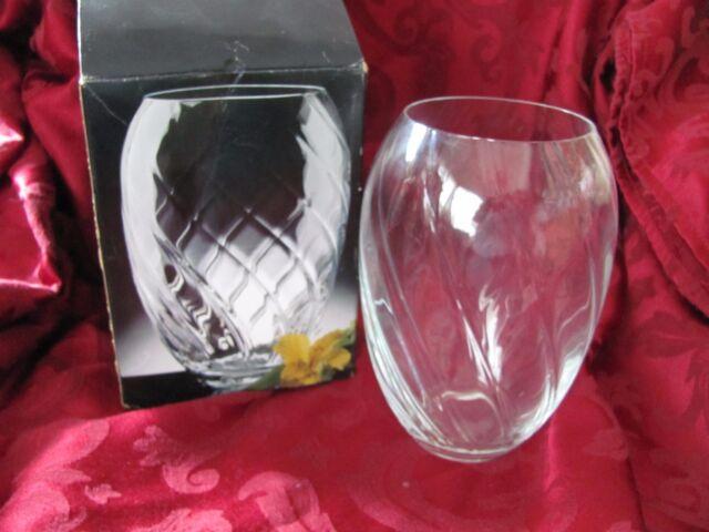 Studio Nova Crystal Vase Inspiration 7 Czech Republic Ebay