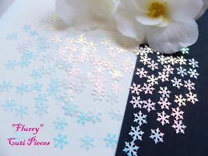 Christmas-Nail-Art-Holographic-White-Xmas-Snowflake-Pack-Spangle-Glitter-Craft