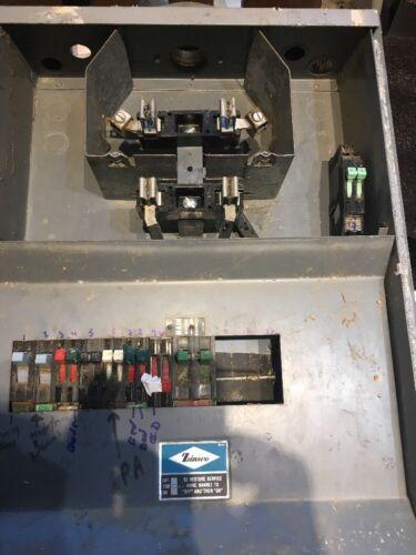 120//240V ZINSCO METER SOCKET KIT TM12X 125A MAX