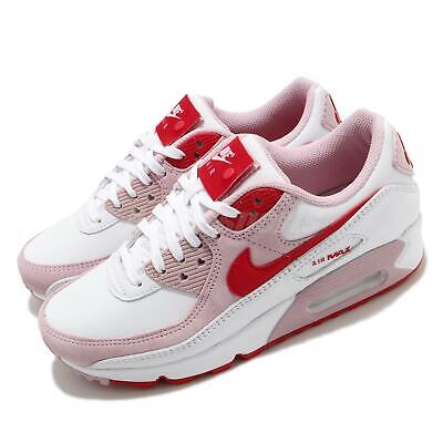 Nike Wmns Air Max 90 QS Valentines Day Love Letter White Red Women DD8029-100   eBay