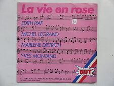Disque PUB  BUT EDITH PIAF MICHEL LEGRAND MARLENE DIETRICH YVES MONTAND 12142