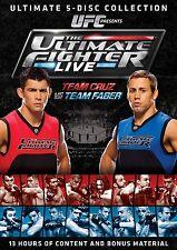 UFC The Ultimate Fighter . Season 15 Live . Team Cruz vs. Team Faber . 5 DVD NEU