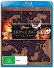 The Lion King Trilogy (Blu-ray, 2011, 3-Disc Set)