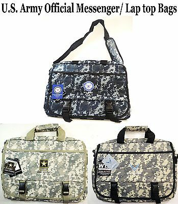 1 PC Men's Army Messenger Bags/Lap Top Bags- U.S. Military Official Licensed Bag