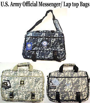 1 PC Men's Army Messenger Bags/Lap Top Bags- U.S. Military Official Licensed Bag